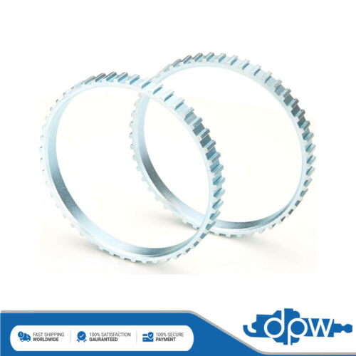 Fits 206 2.0 Petrol 2x ABS Reluctor Rings Front #1