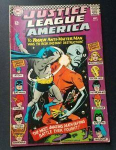 1966 DC Comics Justice League of America #47 Anti-Matter Man See Photos!