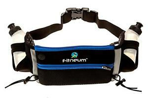 Hydration-Belt-Running-Hiking-iPhone-X-amp-Samsung-S8-Plus-2-Bottles-NEW
