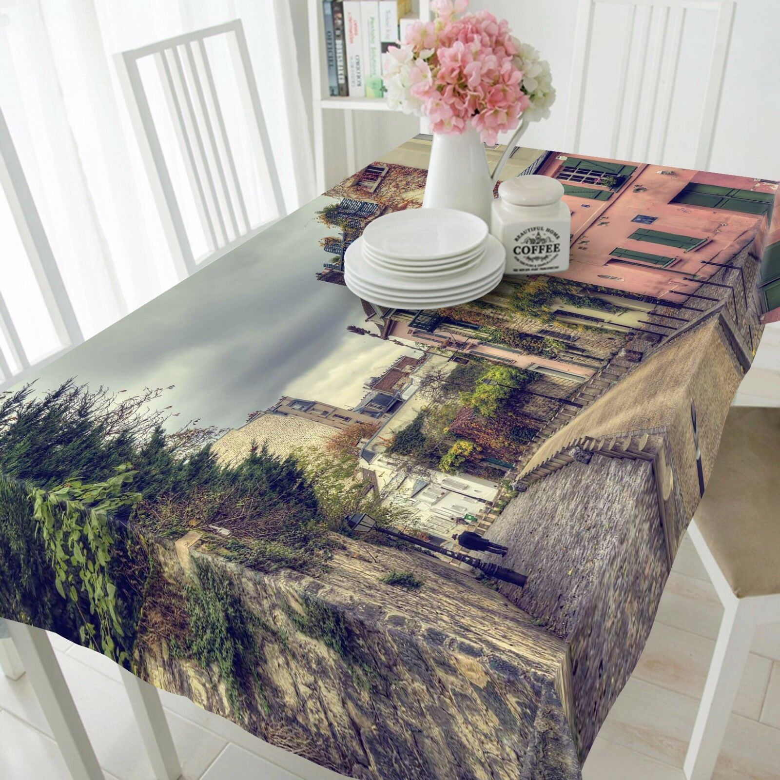 3D City Road 252 Tablecloth Table Cover Cloth Birthday Party Event AJ WALLPAPER