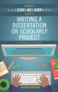 Writing a dissertation nursing
