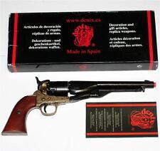 UNION US Cavalry CIVIL WAR 1860 Denix Spain GUN PISTOL REVOLVER REPLICA LARP New