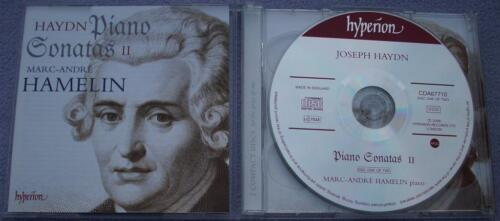 1 of 1 - HAYDN Piano Sonatas II MARC-ANDRE HAMELIN Hyperion 2 CD CLASSICAL KEYBOARD