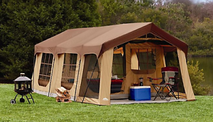 Image Is Loading LARGE 10 Person FAMILY CAMPING TENT 2 Rooms