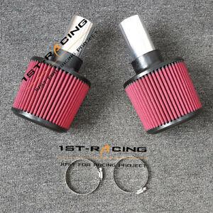 Hi FLow Twin Cone Turbo Air Filter Intake Kit for BMW E90 E92 E93 E82 335i 135i