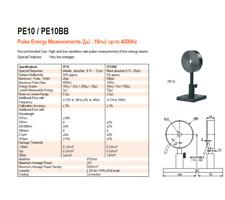 New Ophir Pe10 V2 Rohs Pulse Energy Sensor Pn7z02862