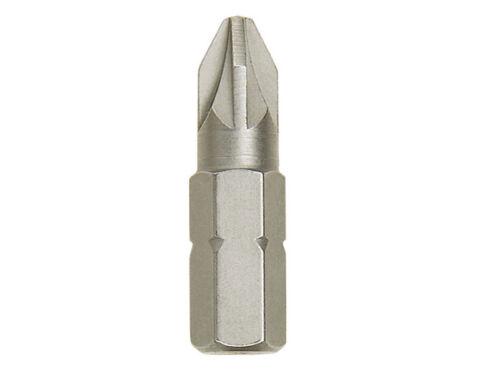 Irwin 10504399 embouts de Tournevis PZ3 25 mm 2pk