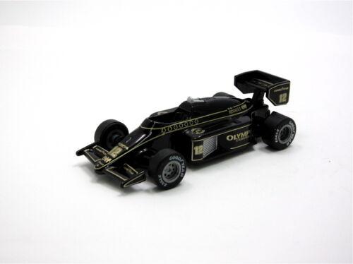 SUNTORY Lotus Collection Formula Diecast Pull-Back Car Model 1985 Team Lotus 97T