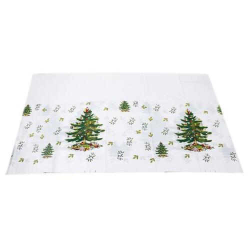 Christmas Santa Bell Disposable Tablecloth Table Cloth Kitchen Tableware SK