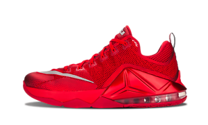 Nike Air LeBron 12 Low UNIVERSITY RED ALL OVER OCTOBER 724557-616 sz 11 James