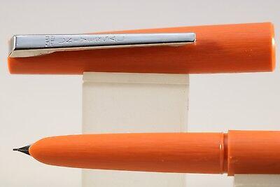 NOS Blue with Chrome Trim Vintage Universal Stilnova Fountain Pen c1970