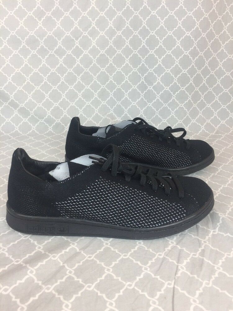 Adidas Originals Stan Smith OG Black Primeknit S80065 shoes, New In Box
