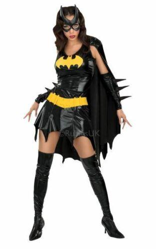 Batgirl Batman Womens Costume DC comics Marvel Superhero Fancy Dress outfit