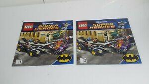 100% De Qualité Lego!!! Instructions Only!!! Pour Super Heroes 6864 Deux-face Chase-afficher Le Titre D'origine