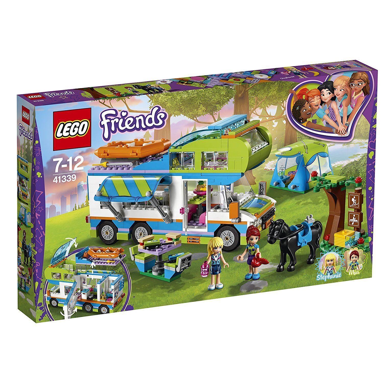 LEGO IL CAMPER VAN DI MIA   41339 costruzioni mattoncini collezione