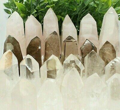 Natural High Quality Wholesale Clear Quartz or Pink Crystal Obelisk Quartz Point