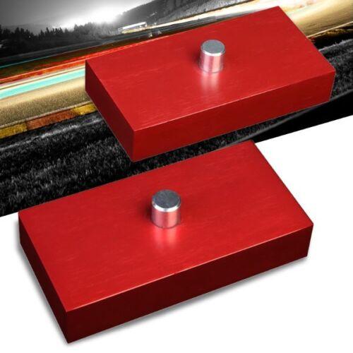 "1/"" Rear Red Leaf Spring Mount Leveling Lift Kit Block For 99-18 F-250//F-350"