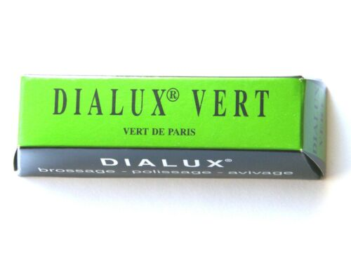 Rouge Polishing Compound Platinum Stainless Steel Jewellers Dialux Vert-Green
