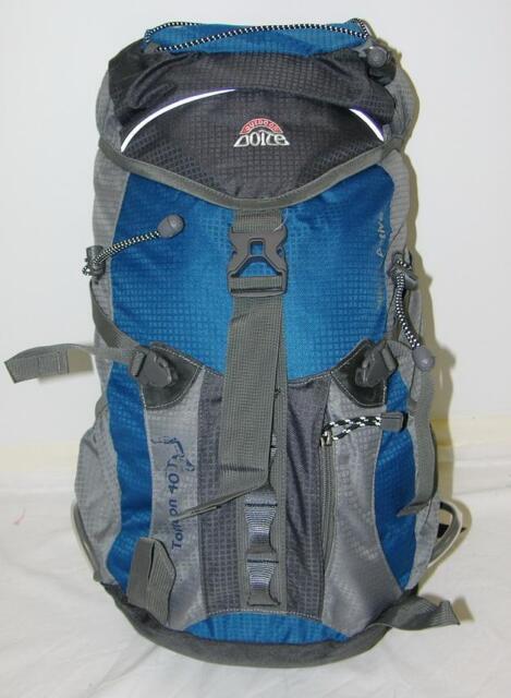 NEW Doite 40L Hiking Treking Camping Torreon 40 Backpack - Blue - 6679