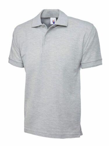 Uneek Unisex Premium Poloshirt UC102 Work Wear Causal Top