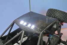 AXIAL RR10 BOMBER CARBON FIBER ROOF WITH LED LIGHTS