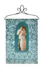 Willow Tree Promise of Love Marriage Wedding Tapestry Bannerette Wall Hanging