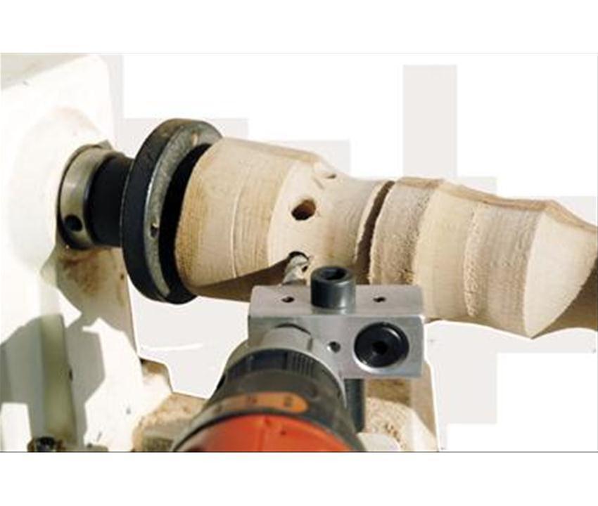Tornio legno kit foratura radiale 3746