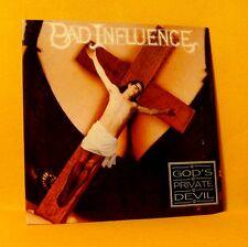 Cardsleeve Single CD BAD INFLUENCE God's Private Devil 2TR 1992 Alt Rock