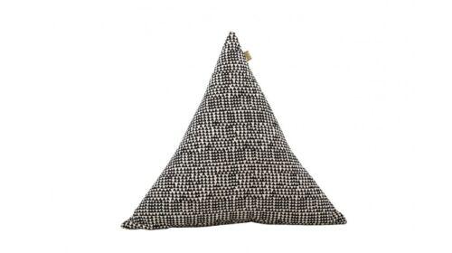 Noir Blanc géométrique triangle Coussin Décoratif-Moderne Canapé KID/'S Chambre à coucher
