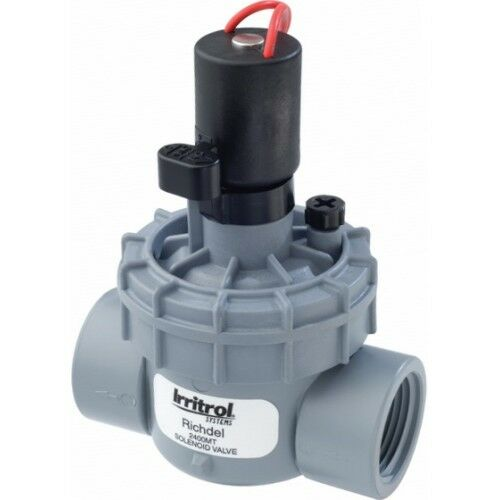 Irritrol RICHDEL-2400 SOLENOID VALVE 25mm*USA Brand-With Or Without Flow Control