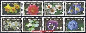 TURKEY-2009-OFFICIAL-FLOWER-SET-STAMPS-MNH