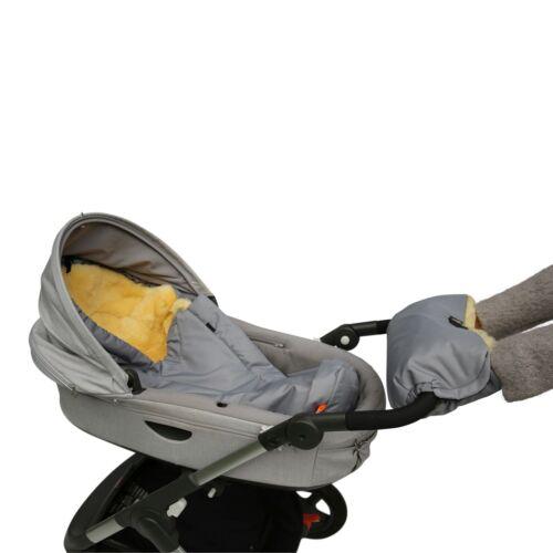 Cordero-calientamanos para cochecito fellwärmer niños auto accesorios merino Fell