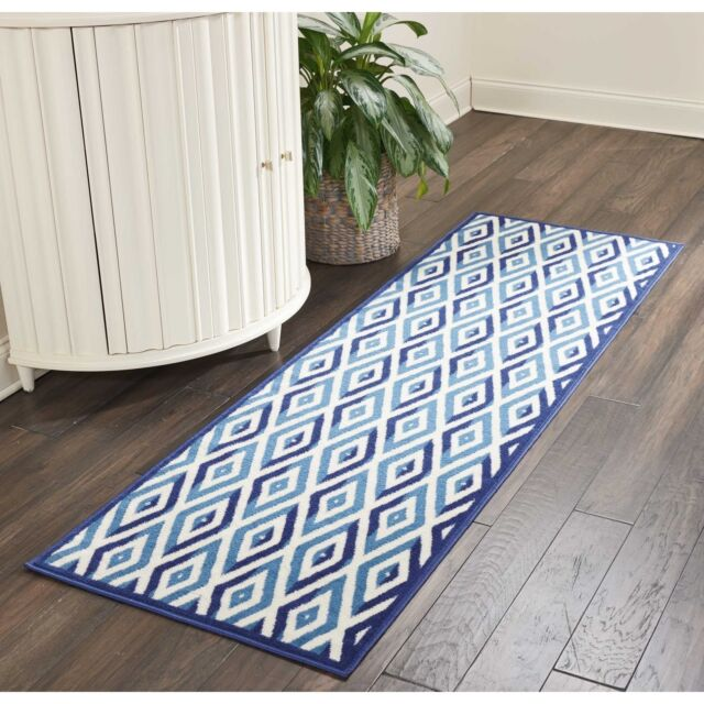 Home Garden Blue Background White Tulip Flowers Area Rugs Kitchen Rug Living Room Floor Mat Sisal Seagrass Area Rugs Adsmoh Org Ng