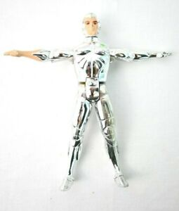 """RARE Vintage 1986 Telepix Silverhawks Quicksilver INCOMPLETE Figure ONLY 5"""""""
