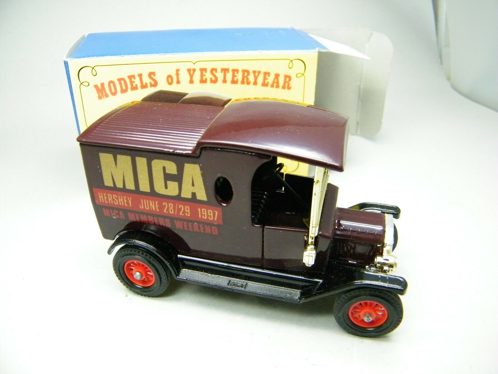 Matchbox MOY c2 y-12 Ford T MICA NA America 1997 Hershey VERY RARE BOXED k23
