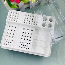 Dental Endo Box Fgrahp Burs Holder Autoclave Disinfection Box 91holes4holes