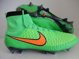 NIKE MAGISTA OBRA SG-PRO POISON GREEN-TOTAL ORANGE SZ 7.5 [641325-380]