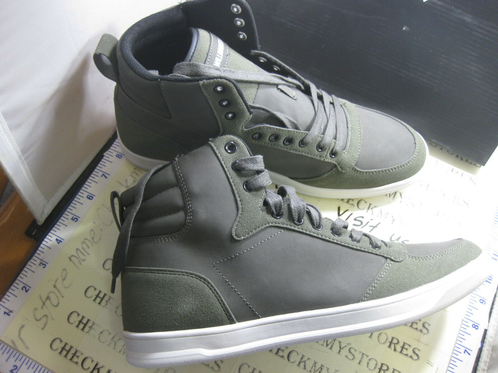 NEW WILLIAM RAST BOMBER PREMIUM DESIGNER STYLE HIGH TOP CASUAL ATHLETIC STYLE DESIGNER Scarpe 0cdec6
