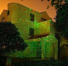 Proiettore Luci Laser Natalizie.Wisdom Proiettore Luci Laser Di Natale Per Esterno Con 8 Giochi Rosso Verde Ip65