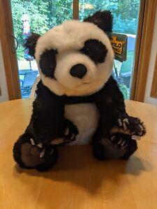 "Wild Republic 12""  Panda Plush Animal Toy Stuffed with Tag"