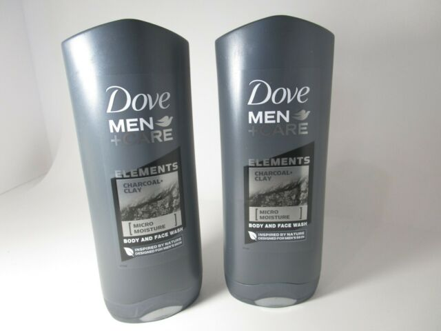 3 Dove Men Care Elements Charcoal Clay Micro Moisture Body Face Wash 18 Oz For Sale Online Ebay