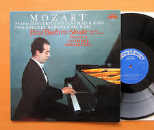 Mozart Piano Concerto K. 482 Paul Badura Skoda 1971 NM/VG Supraphon 1 10 1044