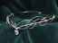 Bridal-Tiara-Circlet-with-Opalite-Moonstone-Headpiece-Medieval-Elven-Wedding thumbnail 9