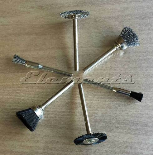 6 pc polonais outil set fil nylon brosse roue pour rotary perceuse outil T021