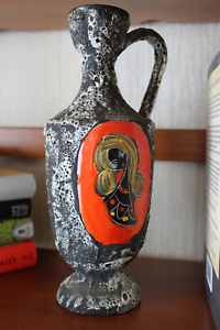 San-Marino-Rock-Glaze-Pottery-Jug