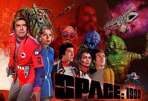 Space:1999 Moonbase Alpha Sci Fi 70's British TV Series ...