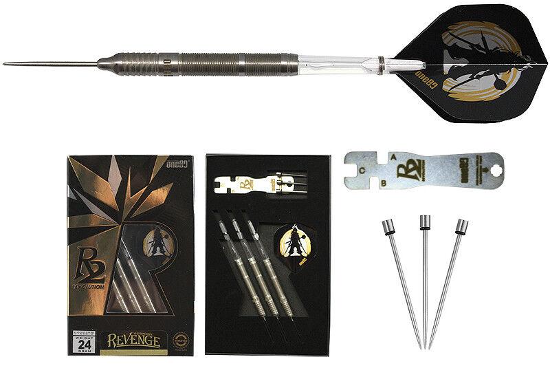 Darts one80 R2 Revenge Steeldarts - Dart Set