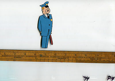 Top Cat Police Officer HUGE Original Production Animation Cel 1961 Hand Painted