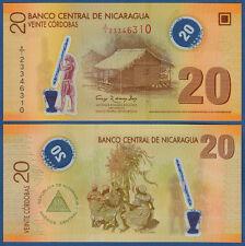 NIKARAGUA / NICARAGUA 20 Cor. 2007 (2012) Polymer UNC  P.202 b