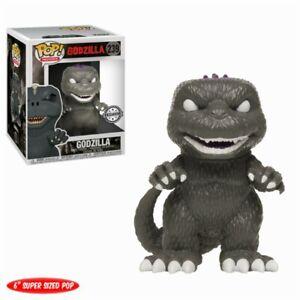 Godzilla-Black-White-Purple-Back-Exclusive-POP-Movies-239-Vinyl-Figur-Funko